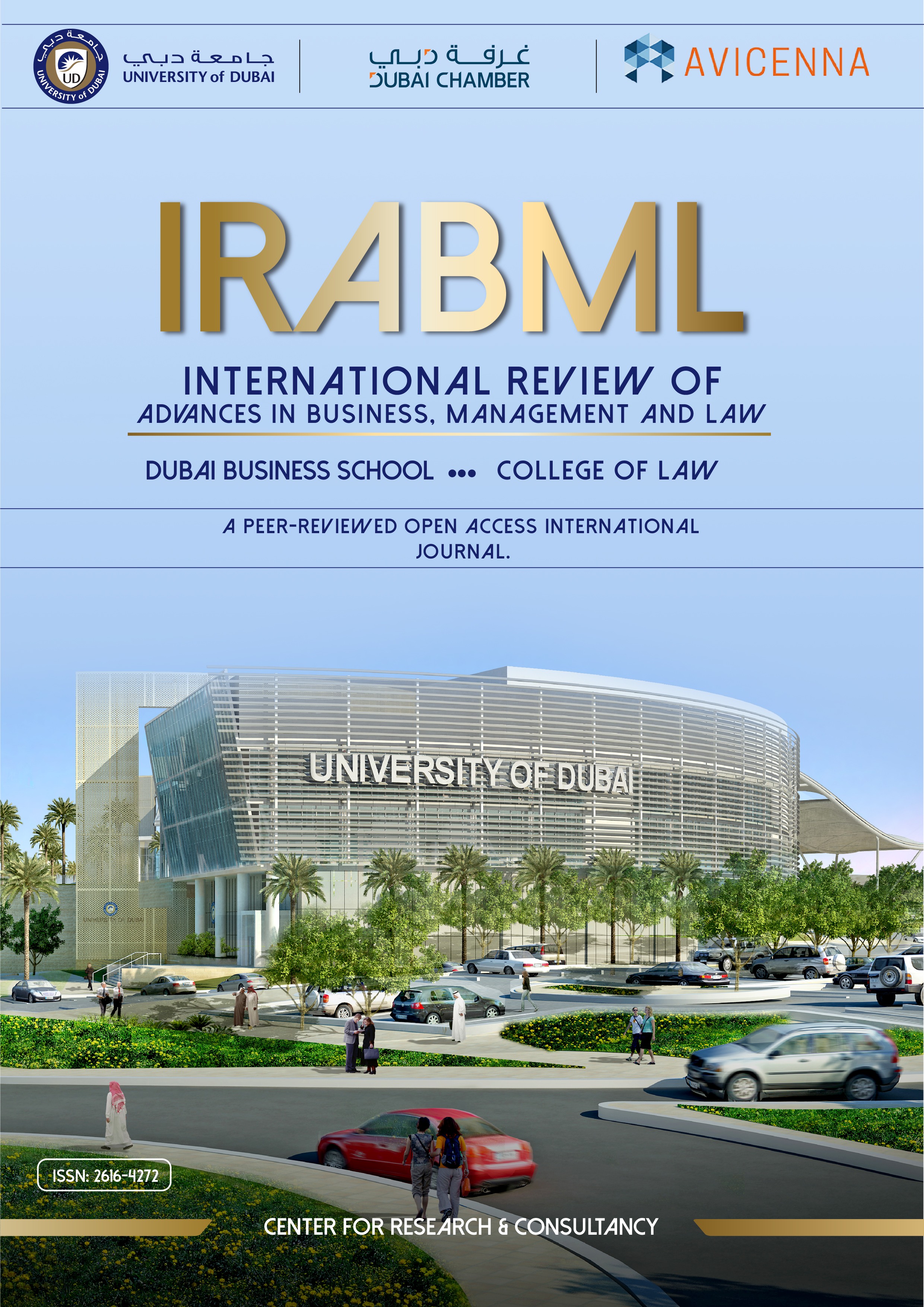 View Vol. 1 No. 1 (2018): International Review of Advances in Business, Management and Law