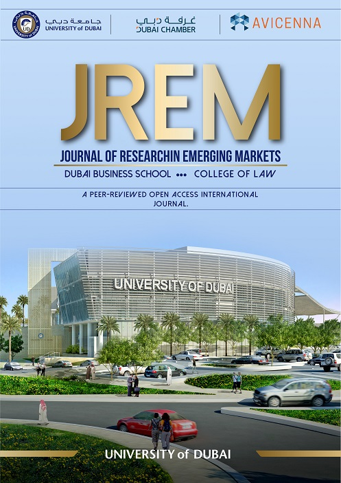View Vol. 2 No. 3 (2020):  Journal of Research in Emerging Markets